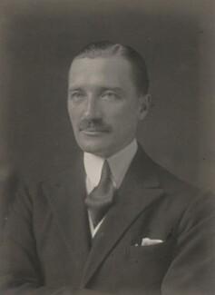 Sir Edward Louis Spears, 1st Bt, by Walter Stoneman - NPG x185407