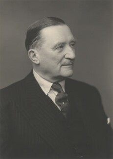Sir Edward Louis Spears, 1st Bt, by Walter Stoneman - NPG x185409