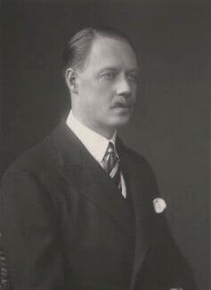 Albert Spencer, 7th Earl Spencer, by Walter Stoneman - NPG x185413