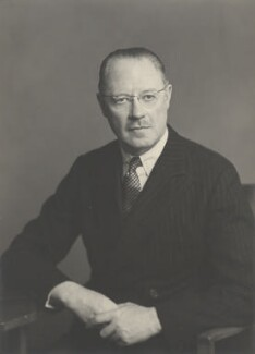 Albert Spencer, 7th Earl Spencer, by Walter Stoneman - NPG x185414