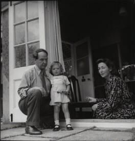 Henry Moore; Mary Moore; Irina Anatolia Moore (née Radetzki), by Francis Goodman - NPG x39494