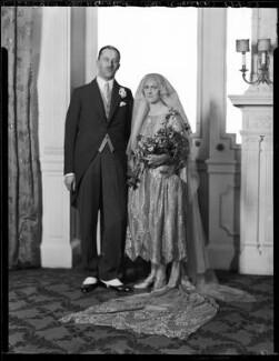 Henry Gerald Aylmer; Nancy Aylmer (née Hollick), by Lafayette - NPG x184584