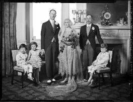 Henry Gerald Aylmer; Nancy Aylmer (née Hollick), by Lafayette - NPG x184587