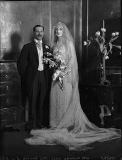 Norman Hall; Viola Florence Geraldine Hall (née Bankes), by Lafayette - NPG x184592