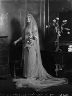 Viola Florence Geraldine Hall (née Bankes), by Lafayette - NPG x184594