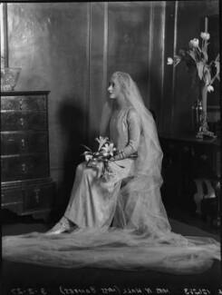 Viola Florence Geraldine Hall (née Bankes), by Lafayette - NPG x184595