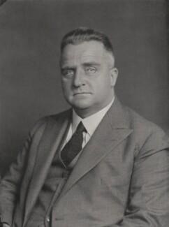 Sir Bertram Sydney Barnsdale Stevens, by Walter Stoneman - NPG x185461