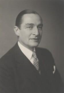 Sir Ralph Clarmont Skrine Stevenson, by Walter Stoneman - NPG x185469
