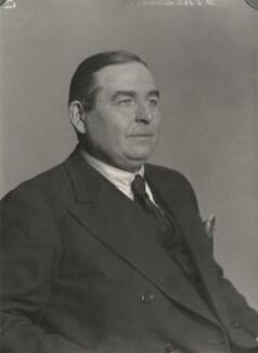 Joseph Montague Kenworthy, 10th Baron Strabolgi, by Walter Stoneman - NPG x185518