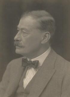 Sir Frank (Athelstane) Swettenham, by Walter Stoneman - NPG x185565