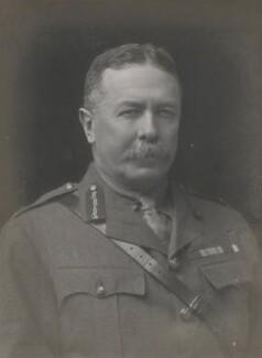 Sir Percy Molesworth Sykes, by Walter Stoneman - NPG x185575