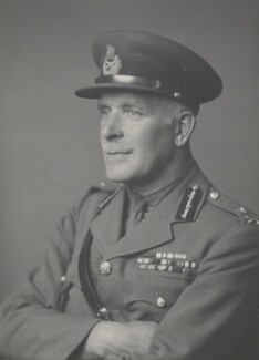 George William Symes, by Walter Stoneman - NPG x185576