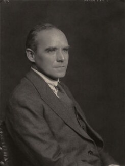 Sir Geoffrey Ingram Taylor, by Walter Stoneman - NPG x185603