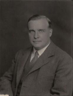 Sir Hugh Taylor, by Walter Stoneman - NPG x185607