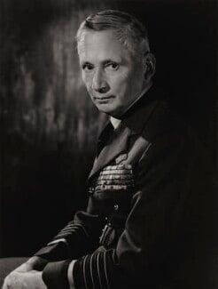 Arthur William Tedder, 1st Baron Tedder, by Walter Bird - NPG x185618