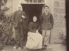 Rupert Potter; Beatrix Potter (Mrs Heelis); (Walter) Bertram Potter, by Rupert Potter, 1894 - NPG  - © National Portrait Gallery, London