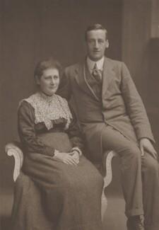 Beatrix Potter (Mrs Heelis); William Heelis, by Clarence Edmund Fry & Son, 1913 - NPG P1824 - © National Portrait Gallery, London
