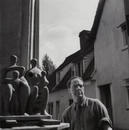 Henry Moore, by Francis Goodman - NPG x39487