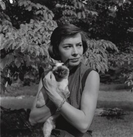 Patricia Highsmith, by Francis Goodman - NPG x195064