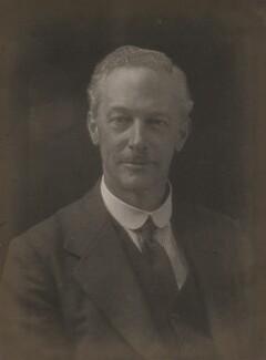 Sir Eustace Henry William Tennyson d'Eyncourt, 1st Bt, by Walter Stoneman - NPG x185627