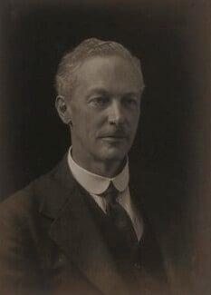 Sir Eustace Henry William Tennyson d'Eyncourt, 1st Bt, by Walter Stoneman - NPG x185628