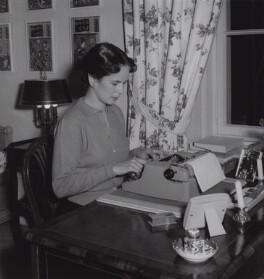 Oona Chaplin (née O'Neill), by Francis Goodman - NPG x195067