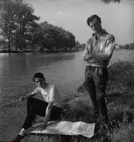 Norman Alfred Prouting; David Hicks, by Francis Goodman - NPG x195073