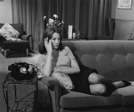 Christine Keeler, by Tom Blau - NPG x137316