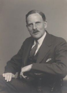 Hugh Hamshaw Thomas, by Walter Stoneman - NPG x185646