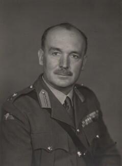 Sir Geoffrey Stuart Thompson, by Walter Stoneman - NPG x185658