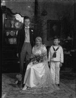 Stephen Cliff; Joan Cliff (née Bradley), by Lafayette - NPG x184614