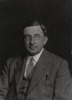 William Robin Thompson, by Walter Stoneman - NPG x185668