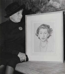 Laura Knight, by Keystone Press Agency Ltd, 14 October 1963 - NPG x137366 - © Keystone Press Agency Ltd