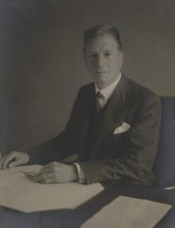 Sir Francis Vernon Thomson, 1st Bt, by Walter Stoneman - NPG x185686