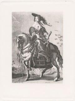 Henrietta Maria, after Jérôme David (Hieronymus David) - NPG D42685