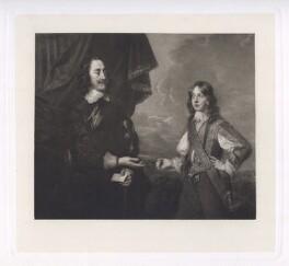 King Charles I; King James II when Duke of York, after Sir Peter Lely - NPG D42688