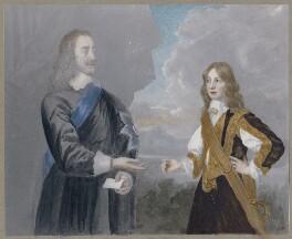 King Charles I; King James II when Duke of York, after Sir Peter Lely - NPG D42687