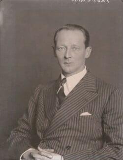Evan Frederic Morgan, 2nd Viscount Tredegar, by Walter Stoneman - NPG x185733
