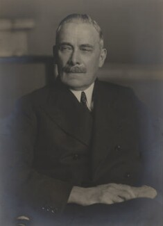 George Clement Tryon, 1st Baron Tryon, by Walter Stoneman - NPG x185754