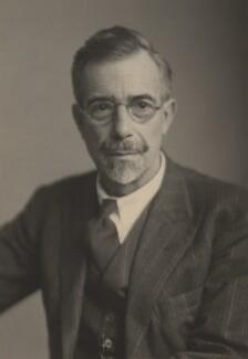 Sir Ralph Lilley Turner, by Walter Stoneman - NPG x185773