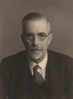 Sir Ralph Lilley Turner, by Walter Stoneman - NPG x185774