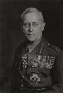 Sir Richard Ernest William Turner, by Walter Stoneman - NPG x185775