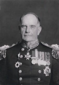 Sir Hugh Justin Tweedie, by Walter Stoneman - NPG x185778