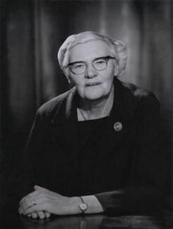 Dame Mabel Tylecote, by Walter Bird - NPG x185786
