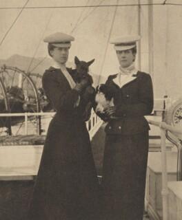 Princess Victoria of Wales; Queen Alexandra, by Queen Alexandra - NPG x137368