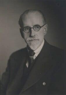 Sir Stanley Unwin, by Walter Stoneman - NPG x185797