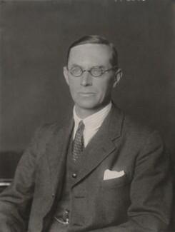 Sir Gilbert Charles Upcott, by Walter Stoneman - NPG x185798