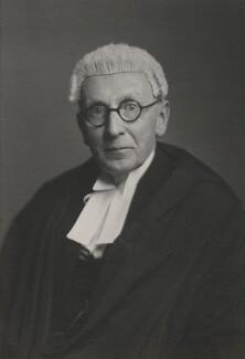Sir Harry Bevir Vaisey, by Walter Stoneman - NPG x185806