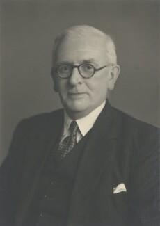 Sir Edgar Verity, by Walter Stoneman - NPG x185824