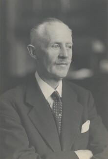 Sir Ralph Verney, 1st Bt, by Walter Stoneman - NPG x185827